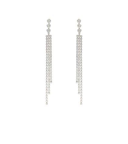 Nile drop crystal earrings