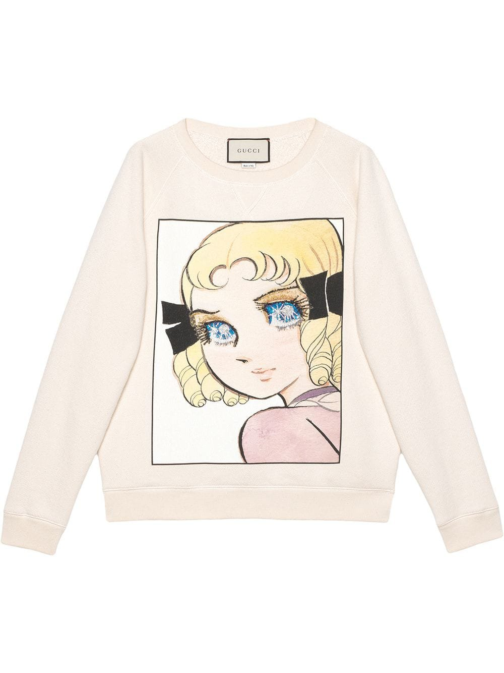 Gucci Cotton sweatshirt with manga print $1,800 - Buy SS19 Online - Fast Global Delivery, Price
