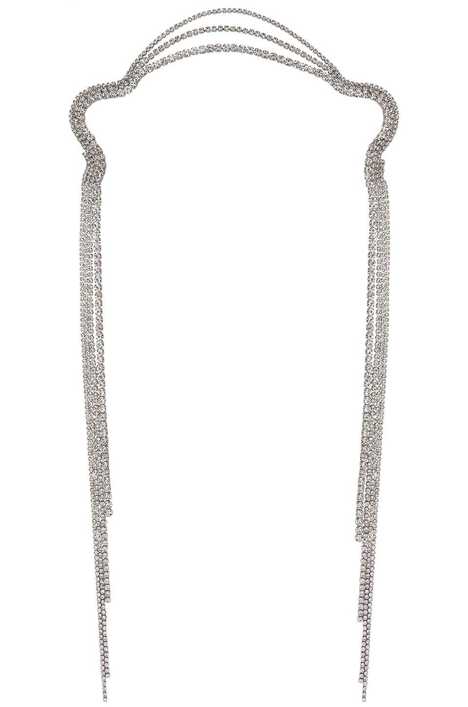 X REVOLVE Icey Scarf Necklace