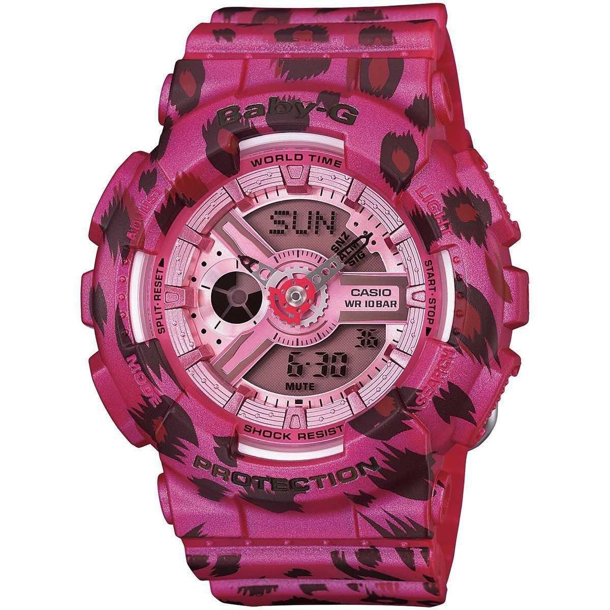Baby-G: Pink Leopard Watch