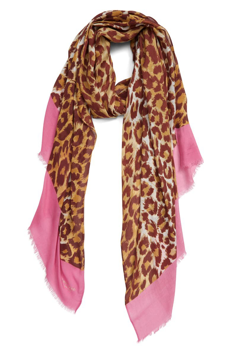 kate spade new york panthera oblong scarf   Nordstrom