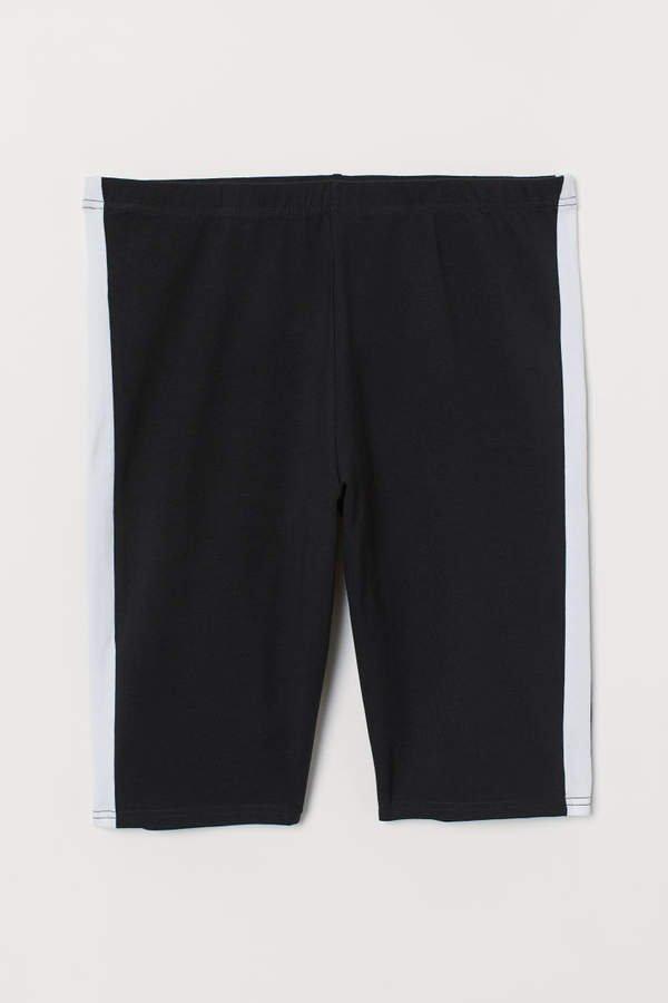 H&M+ Jersey Cycling Shorts - Black