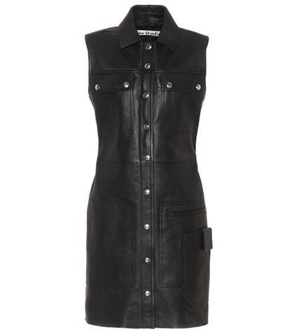 Scala leather dress