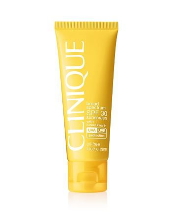 Clinique Broad Spectrum SPF 30 Sunscreen Oil-Free Face Cream | Bloomingdale's