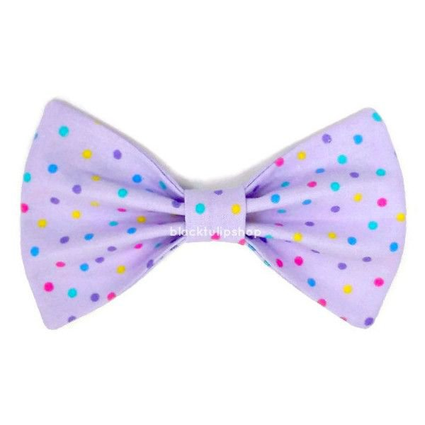 Polka Dot Bow Lavender Bow Clip Lilac Hairbow Pastel Dots Lolita Fairy... ($5) ❤ liked on Polyvore featuring bow, purple, hair, clip and cute   Pinterest   Lil…