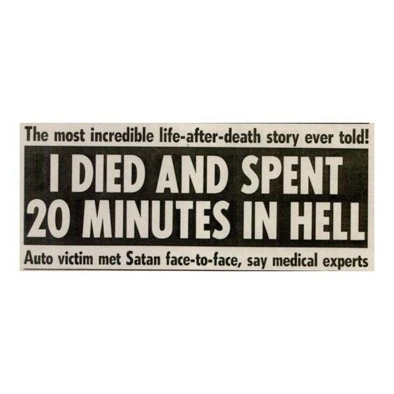 newpaper headline