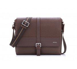 Dark brown messenger bag