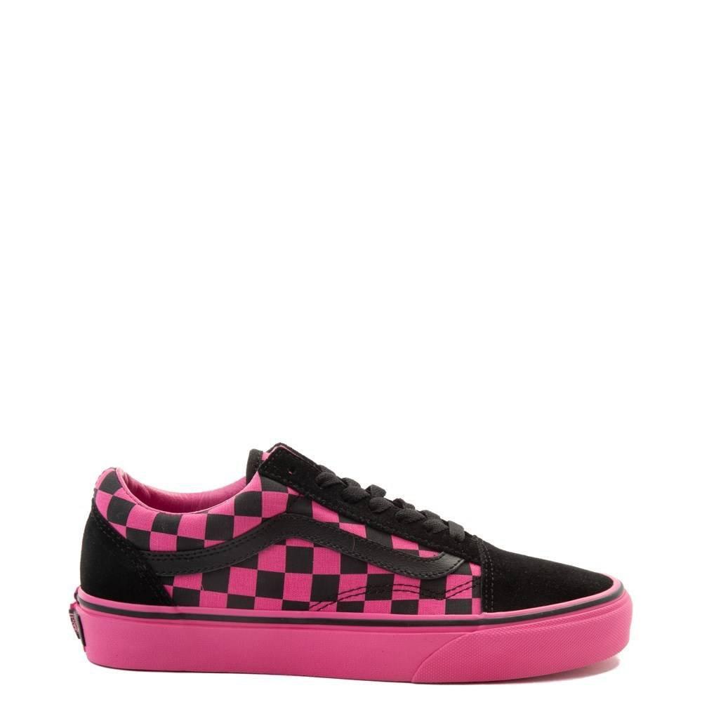 Vans Old Skool Checkerboard Skate Shoe | Journeys