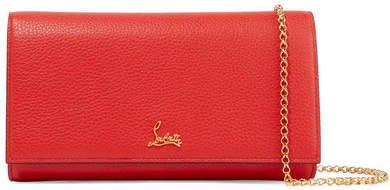 Boudoir Textured-leather Shoulder Bag