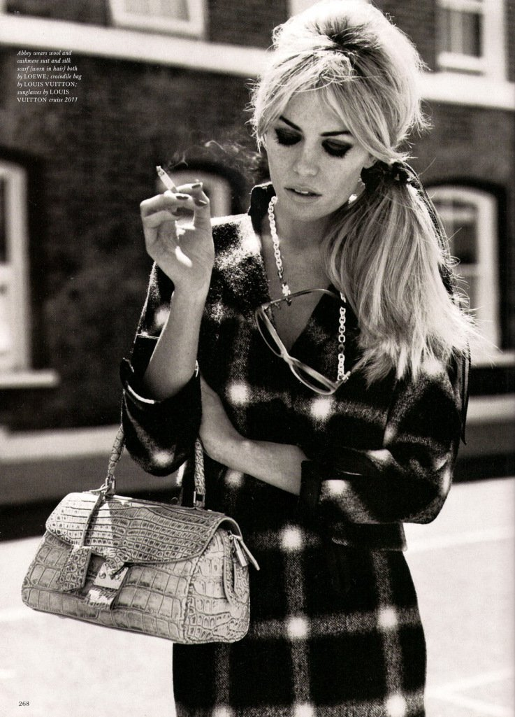 Abbey Clancy by Alasdair McLellan for Love Magazine #4 FW 2010, A Bit of Liverpool 03 | MFD - Multiple Fashion Disorder