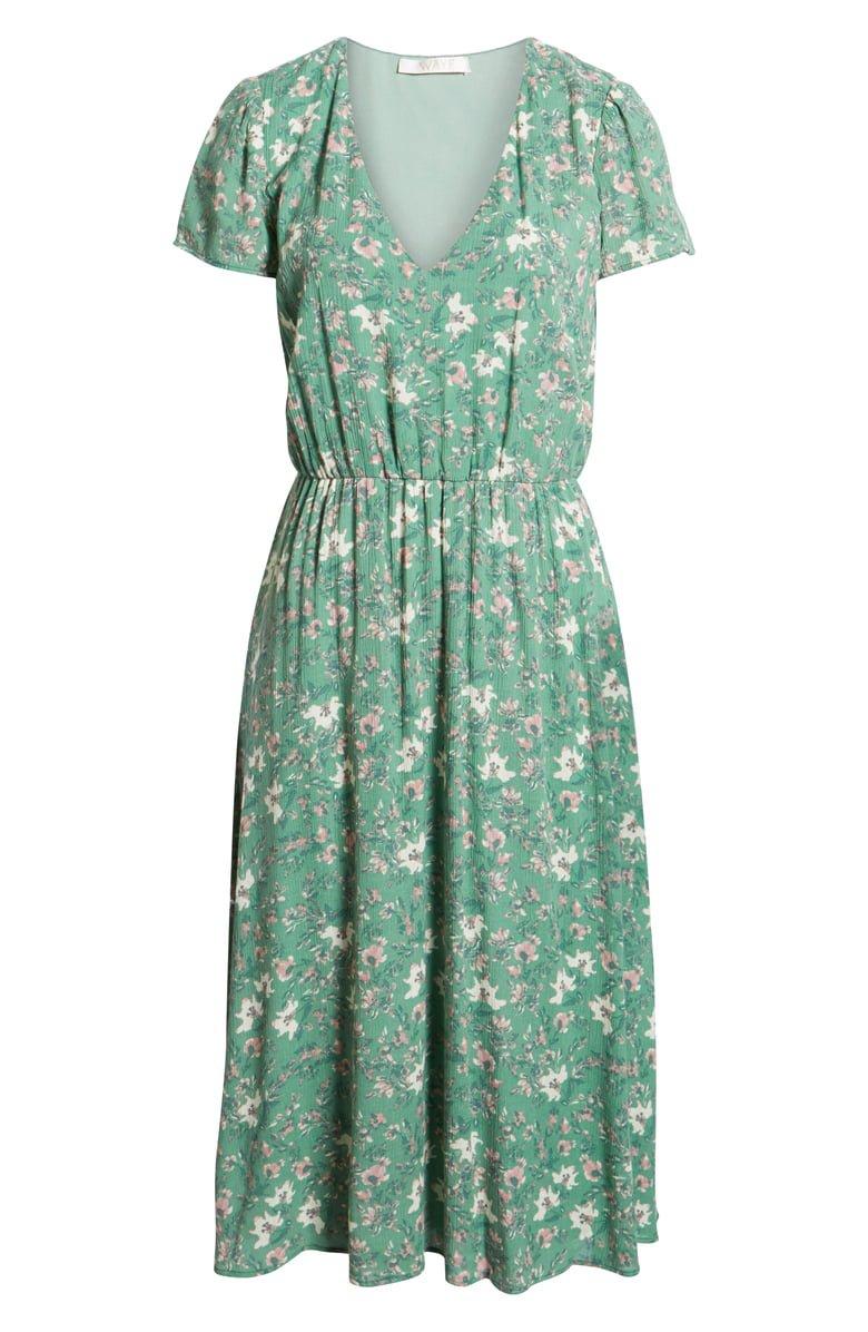 WAYF Blouson Midi Dress (Regular & Plus Size) | Nordstrom