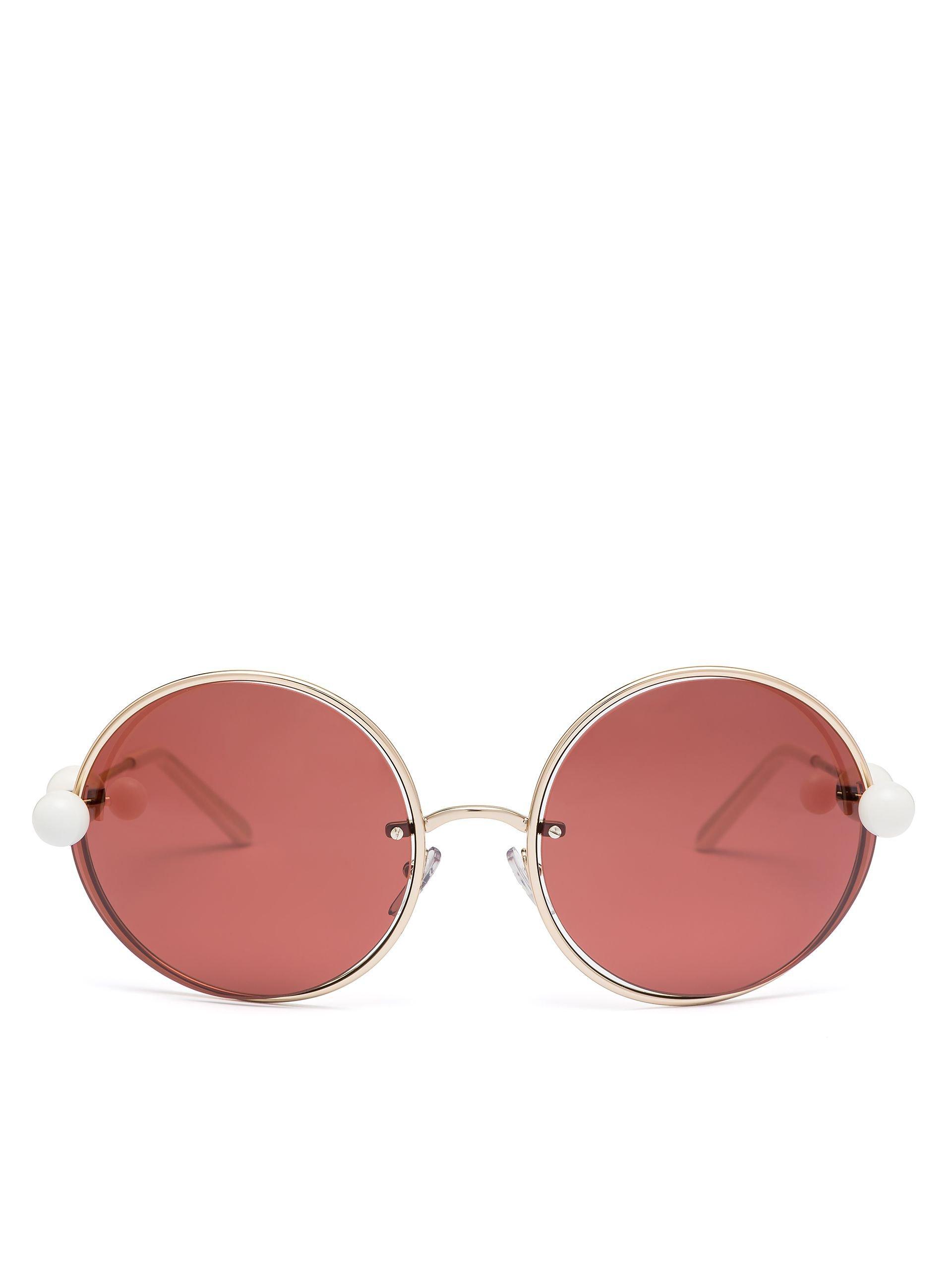 MARNI STARLIGHT Sunglasses In Metal  | Marni