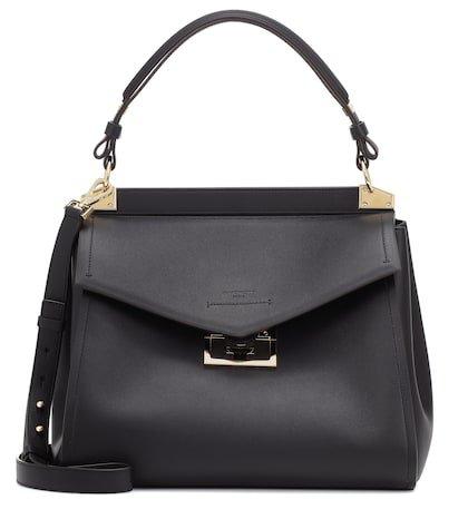 Mystic Medium leather shoulder bag
