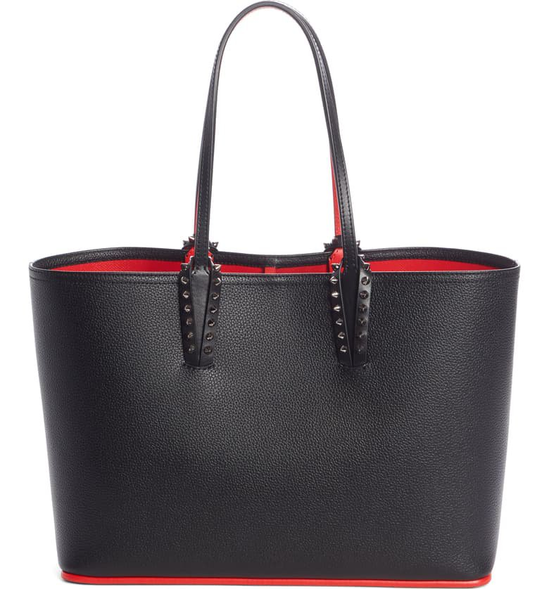 Christian Louboutin Small Cabata Calfskin Leather Tote | Nordstrom
