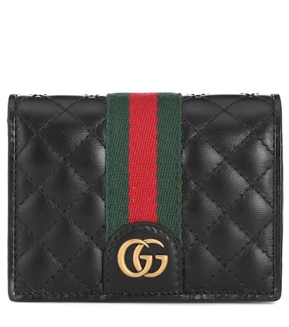 Double G leather wallet