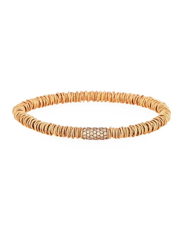 Roberto Demeglio Medium Joy 18K Rose Gold Tube Bracelet