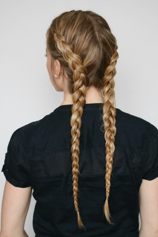 french braids double - Google Search