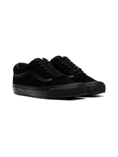 Vans black Vault suede low top sneakers
