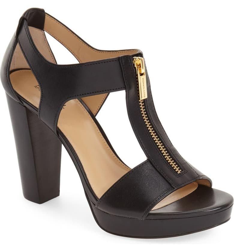 MICHAEL Michael Kors 'Berkley' T-Strap Sandal (Women) | Nordstrom