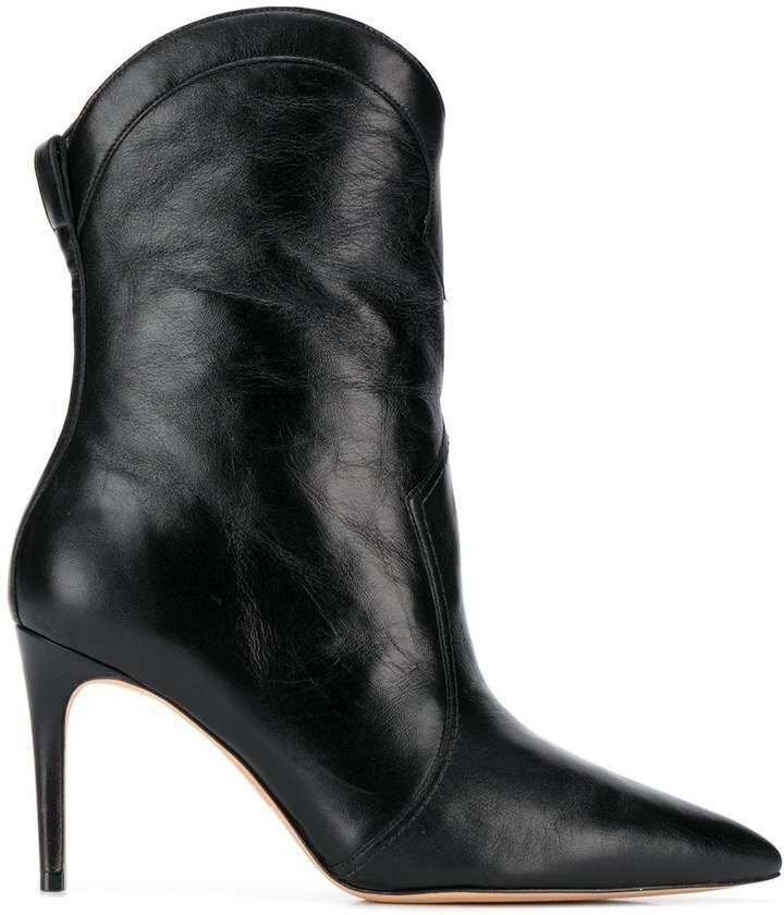 stiletto heel pointed toe boots