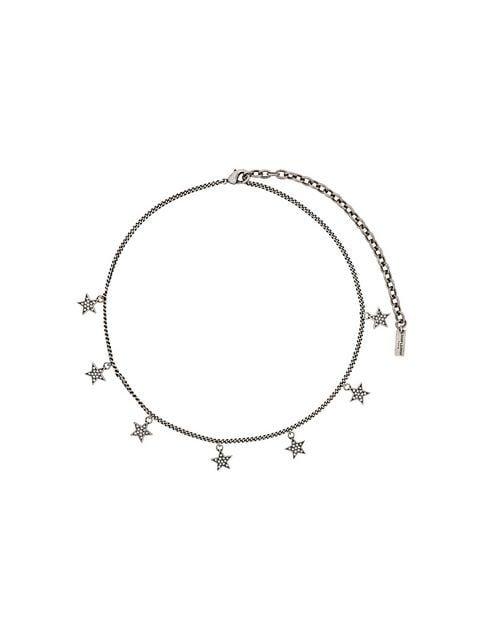 Saint Laurent Mini Star Necklace