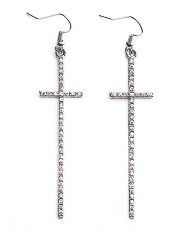 cross earrings - Google Search