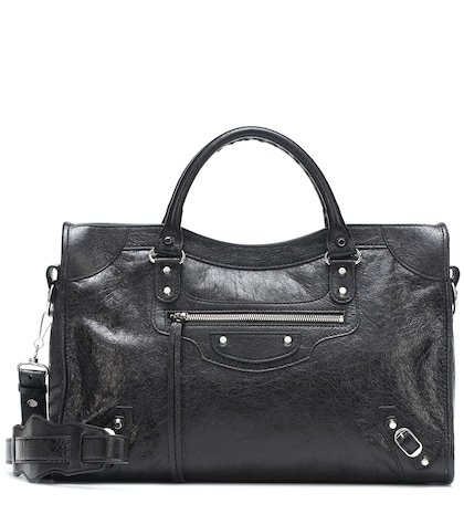 Classic City S leather tote