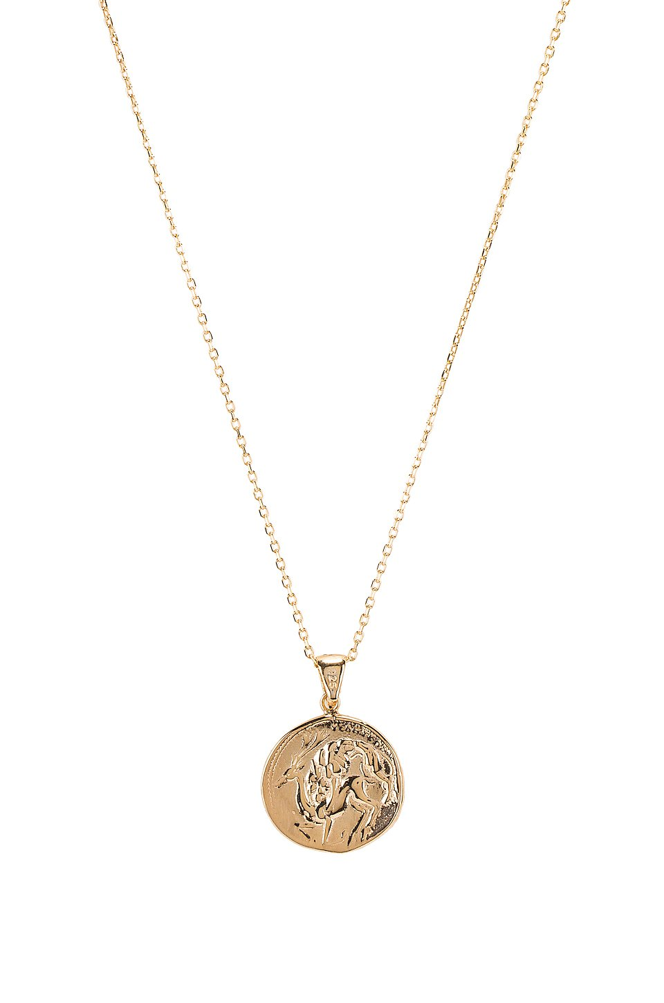 The Protector Reversible Coin Pendant Necklace