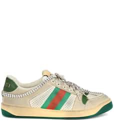 Screener Embellished Sneakers - Gucci |