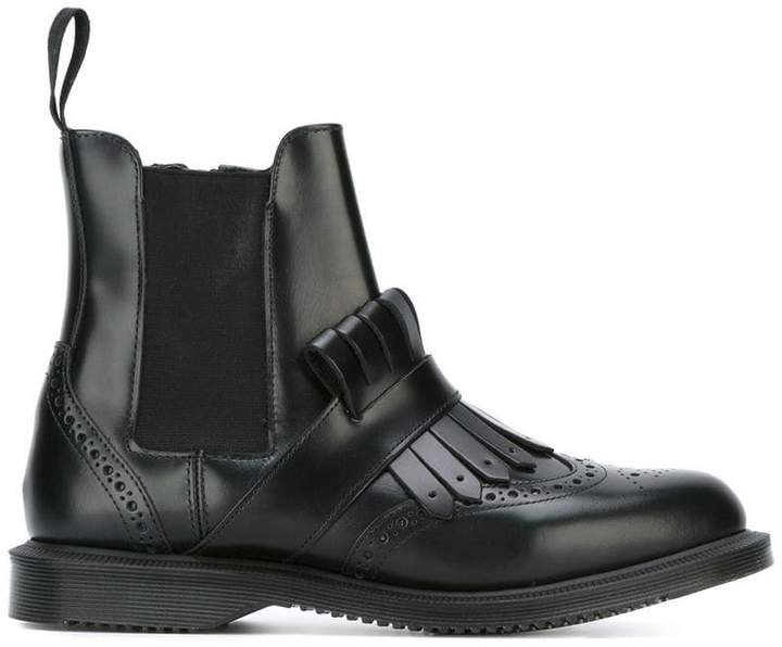 'Polished Smooth' ankle boots