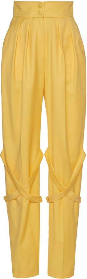 MATERIEL Strap High-Waist Pants