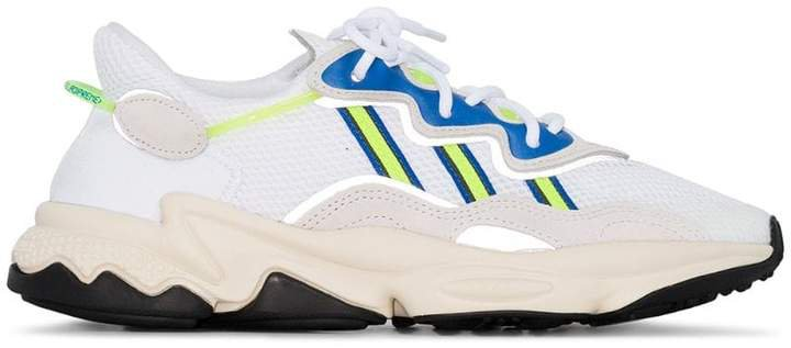 white Ozweego low top sneakers