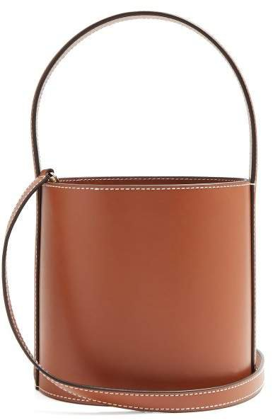 Bissett Leather Bucket Bag - Womens - Tan