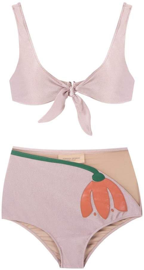 Tulipa hot pants bikini set
