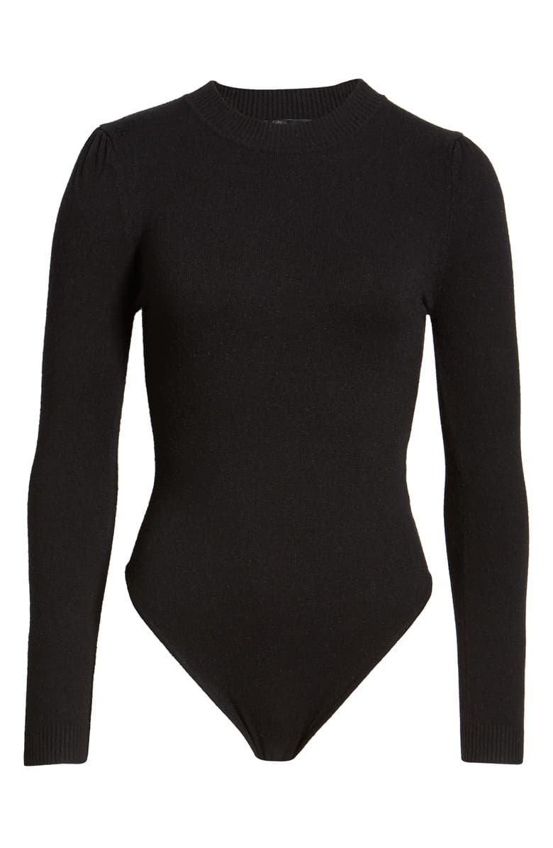 4SI3NNA Alexa Crewneck Long Sleeve Bodysuit