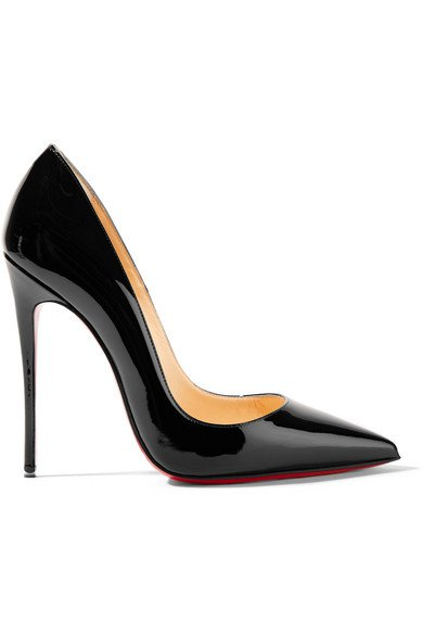 Christian Louboutin   So Kate 120 patent-leather pumps   NET-A-PORTER.COM