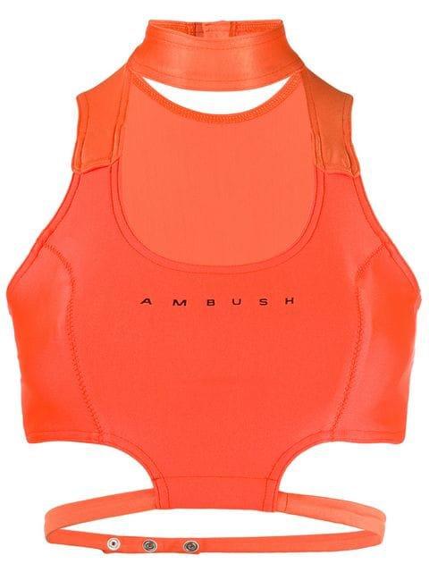 AMBUSH Waves bikini top $320 - Buy Online - Mobile Friendly, Fast Delivery, Price