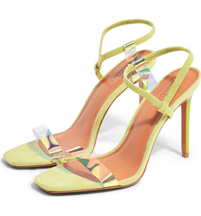 Topshop Satine Ankle Strap Sandal (Women) | Nordstrom