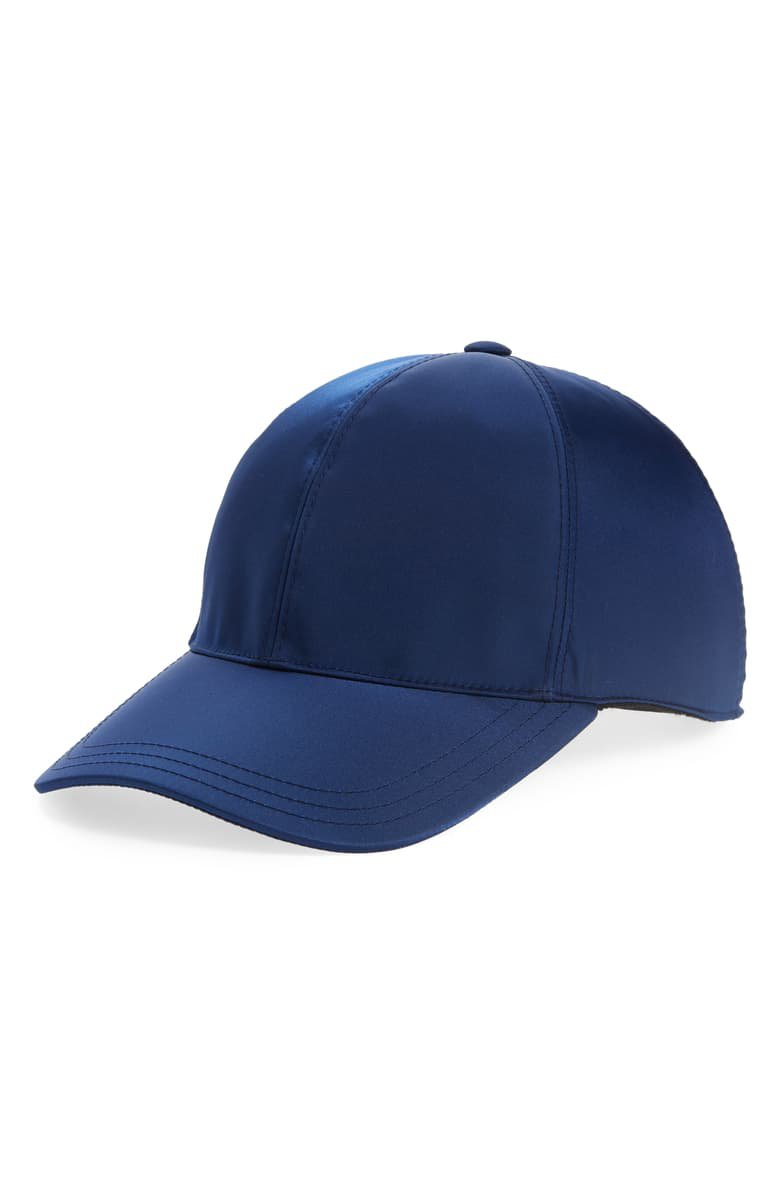 Prada Tessuto Triangolo Nylon Baseball Cap | Nordstrom