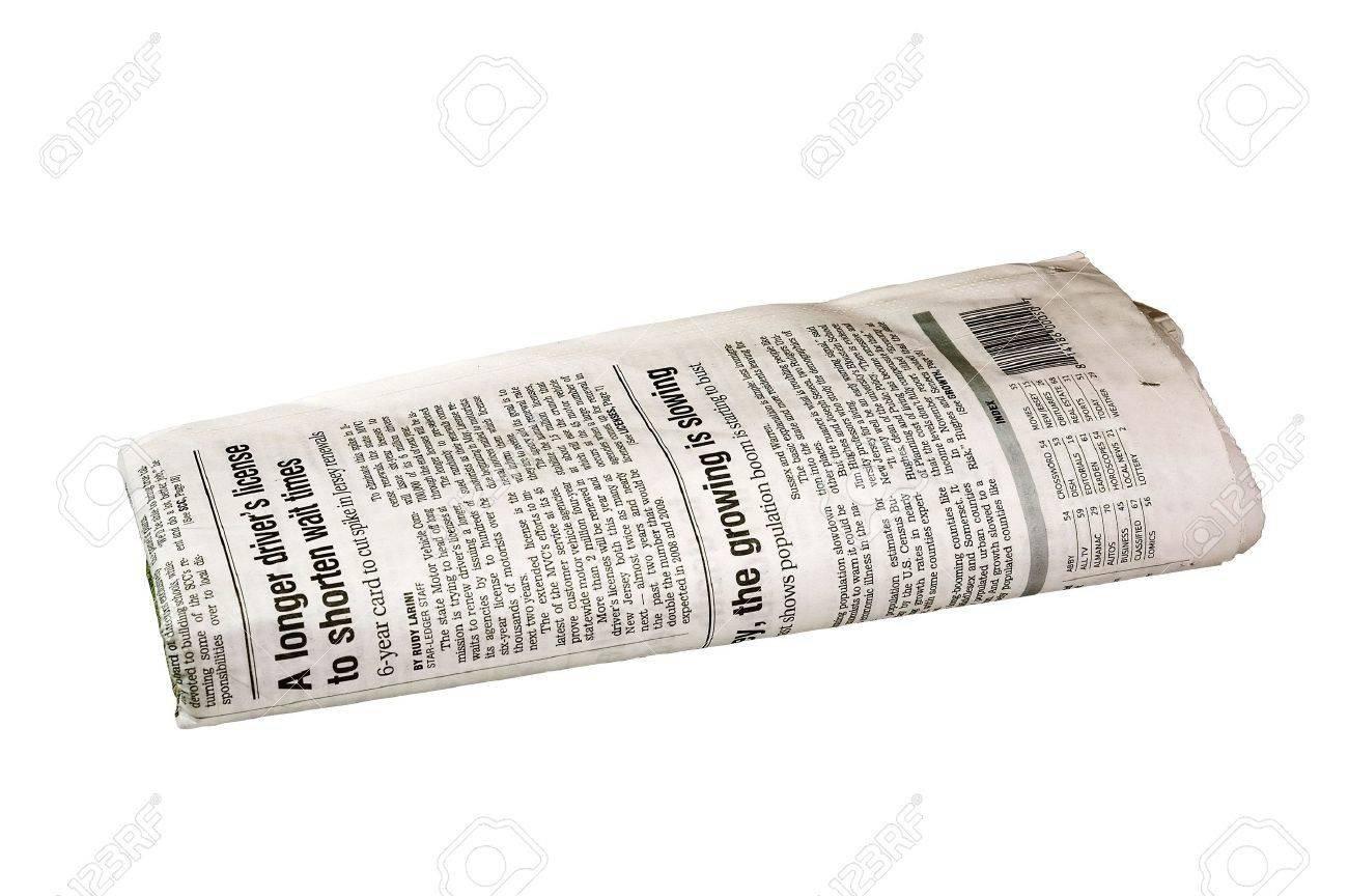 folded newspaper - Google Search