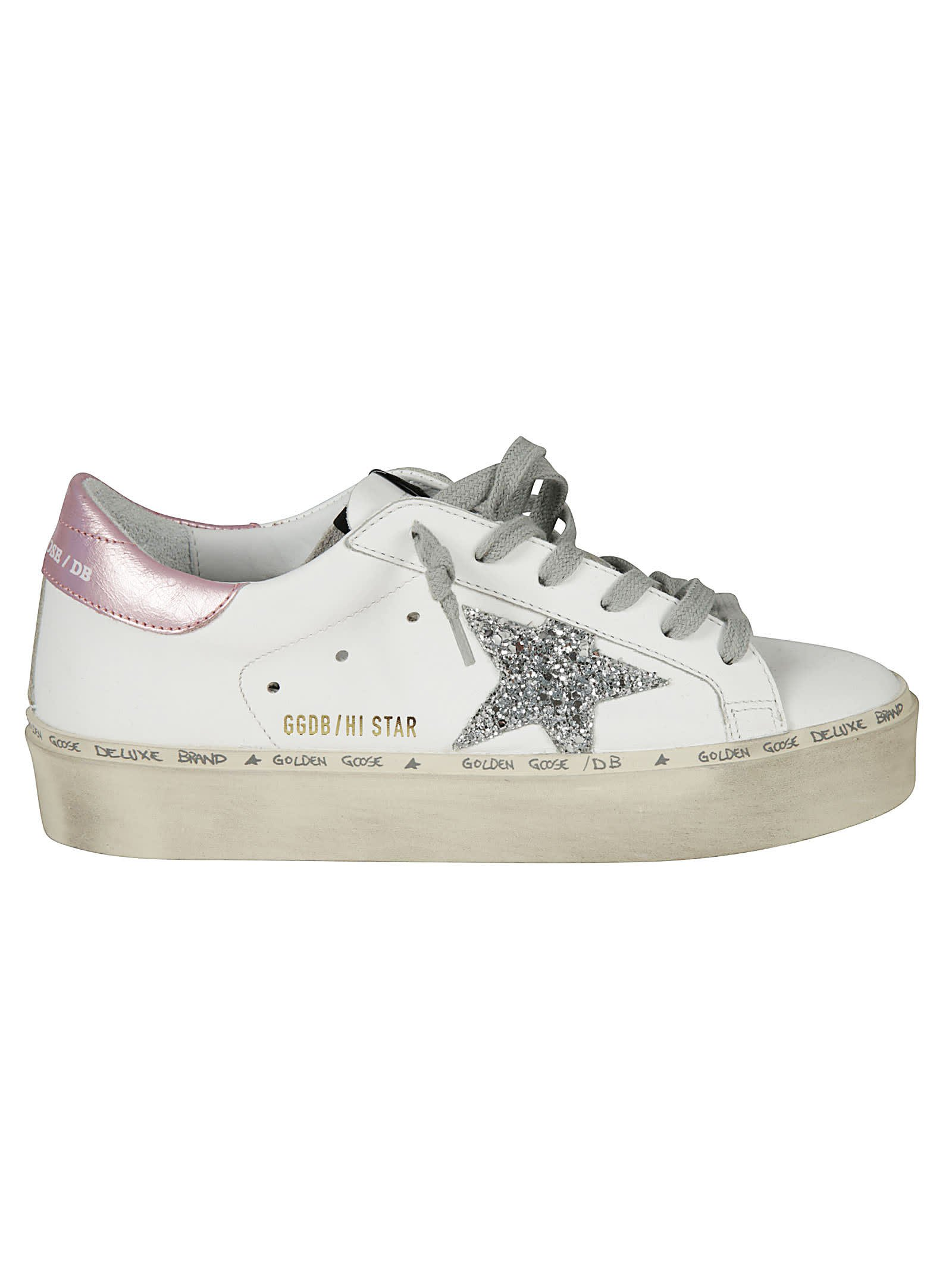 Golden Goose Hi Star Sneakers