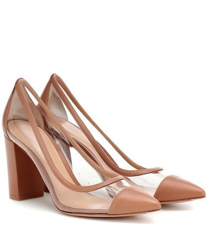 Plexi 85 leather pumps