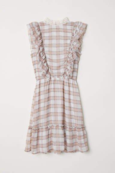 Chiffon Dress - Gray