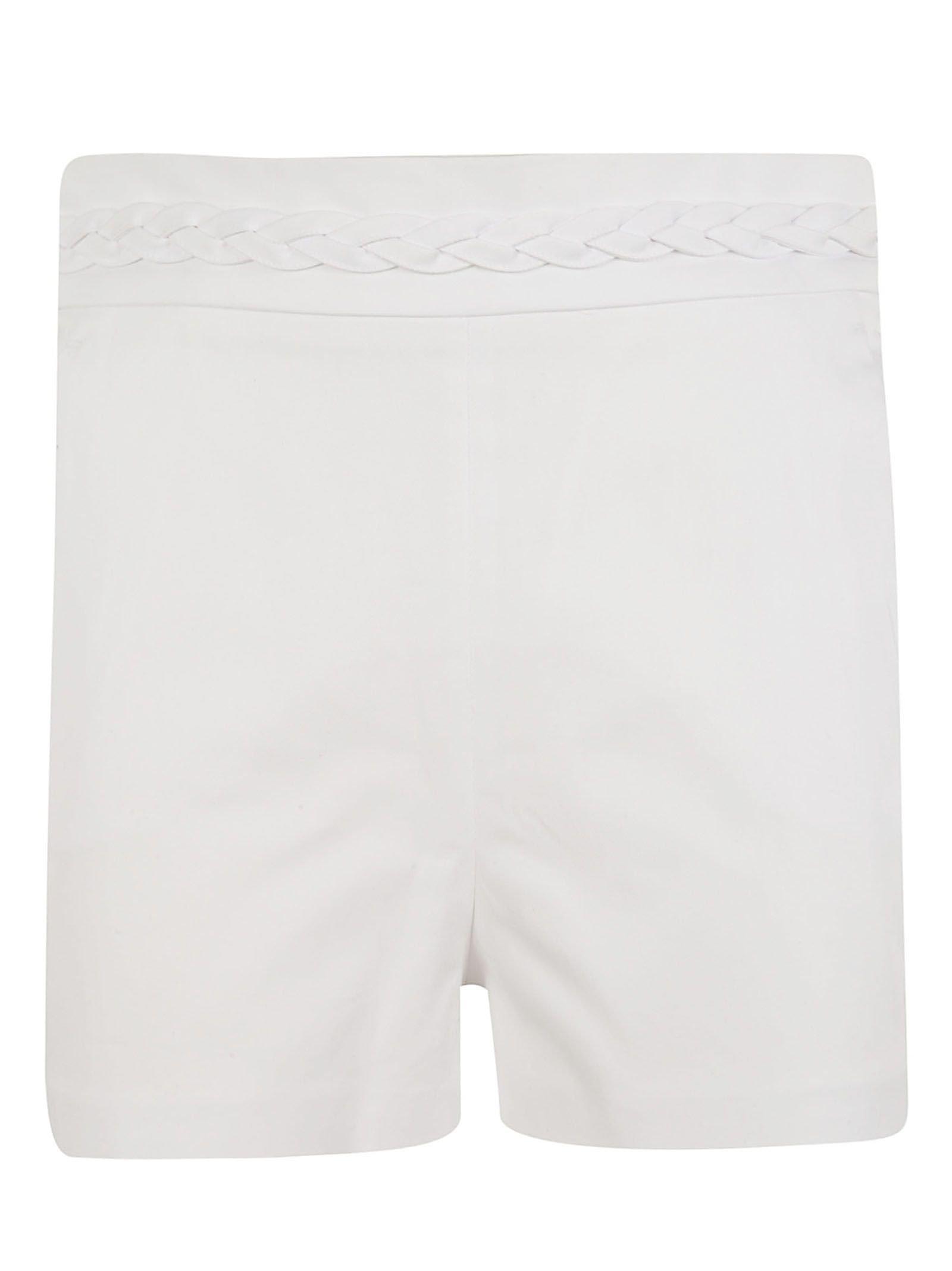 Red Valentino Braided Waistband Shorts