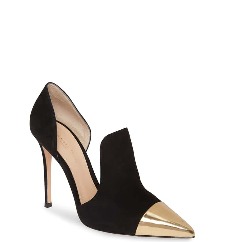 Gianvito Rossi Cutout Pump (Women) | Nordstrom