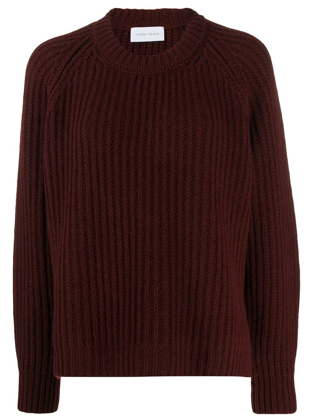 Christian Wijnants Oversized Rib Knit Jumper - Farfetch
