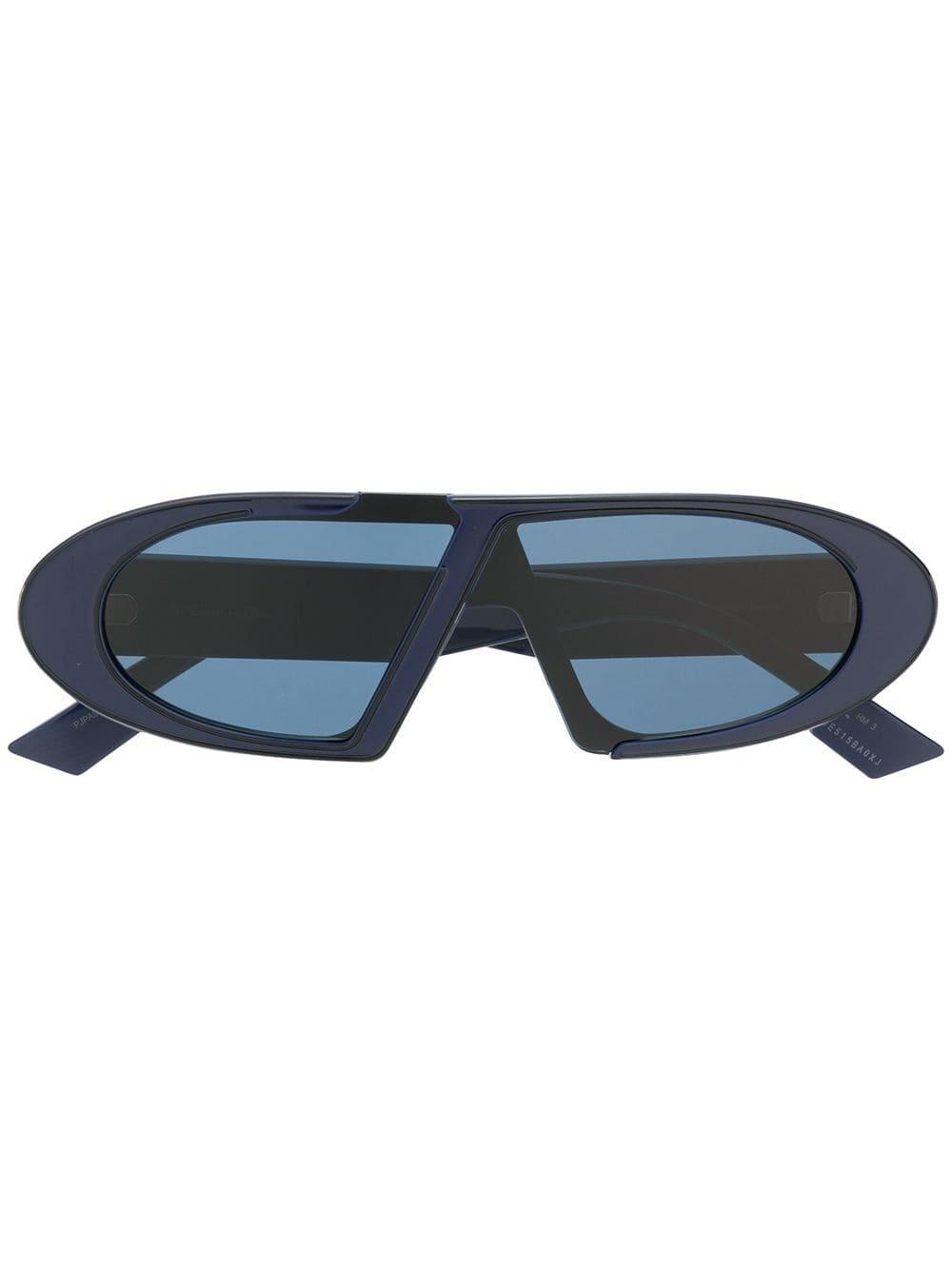 Dior Eyewear Oblique Sunglasses - Farfetch