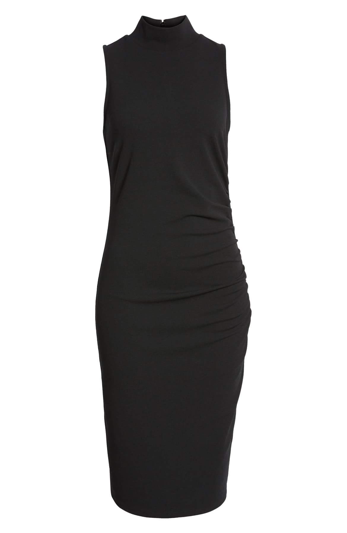 Mock Neck Sheath Dress | Nordstrom