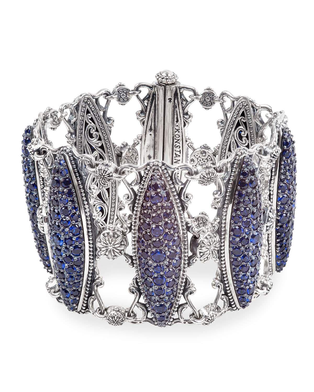 Konstantino Circe Blue Spinel Bracelet
