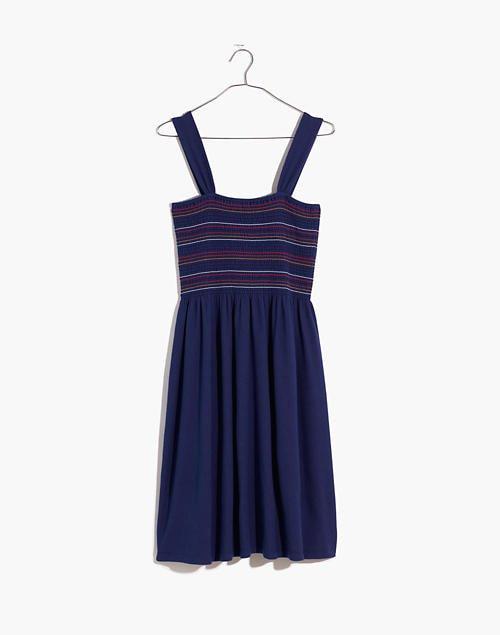 Texture & Thread Smocked Tank Dress blue
